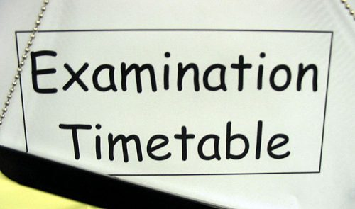 Click to view Exam timetable June 2016